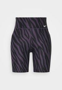 Nike Performance - ONE - Leggings - dark raisin/white - 5