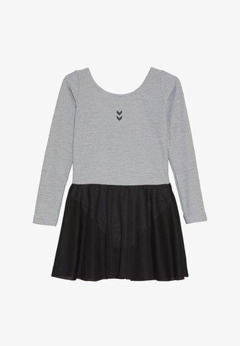 TUTTI GYMNASTIC SUIT - Sportovní šaty - grey melange