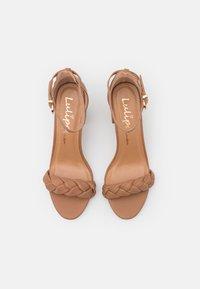 Lulipa London - DEBBIE - High heeled sandals - mocha - 4