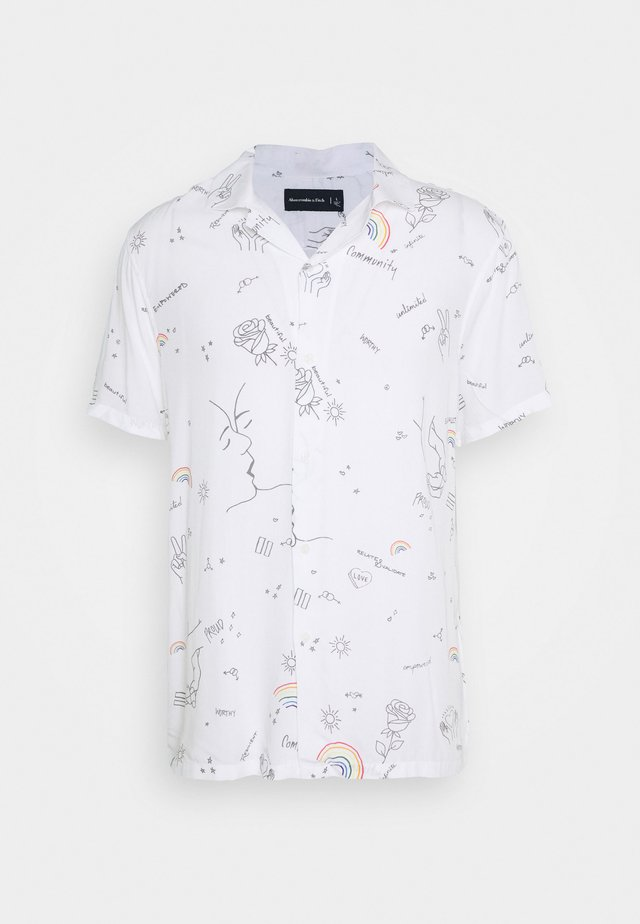 PRIDE RESORT - Shirt - white