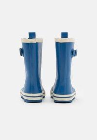 Cotton On - FASHION GOLLY UNISEX - Regenlaarzen - retro blue/ecru - 2