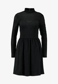 ONLY - ONLNIELLA DRESS - Jersey dress - black - 4