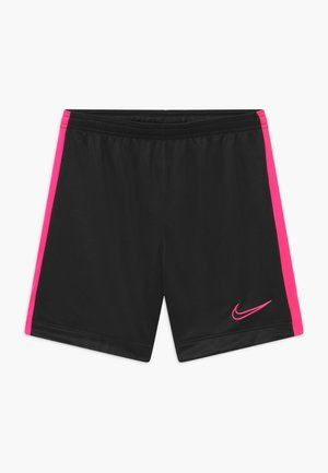 DRY ACADEMY  - Sports shorts - black/hyper pink