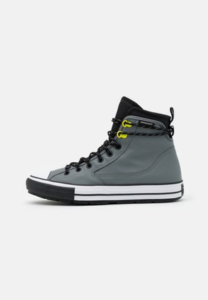 CHUCK TAYLOR ALL STAR UNISEX - High-top trainers - limestone grey/black/white