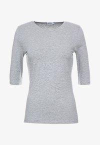 Filippa K - STRETCH ELBOW SLEEVE - Basic T-shirt - grey melange - 3