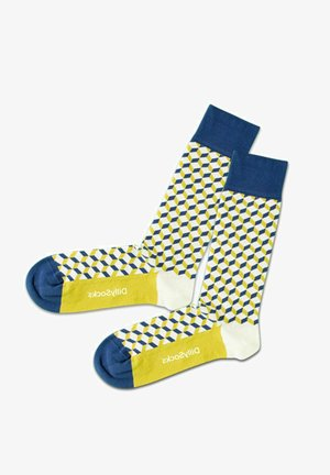 PREMIUM QUALITÄT - Socks - blue / yellow