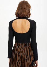 DeFacto - Long sleeved top - black - 2