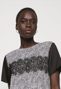 DKNY - Day dress - ivory multi/black - 3