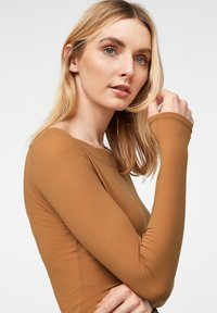 comma - Long sleeved top - tobacco - 3
