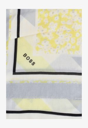 NATYPE - Scarf - yellow, grey