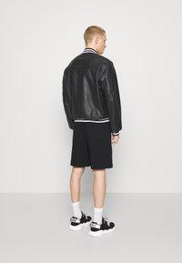 MOSCHINO - Leather jacket - black - 5