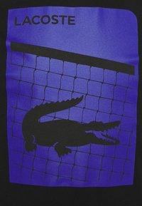 Lacoste Sport - GRAPHIC - Print T-shirt - black - 7
