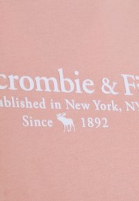 Abercrombie & Fitch - LOGO TEE - Print T-shirt - light pink - 2