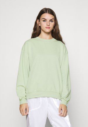 Sweatshirt - dusty green unique