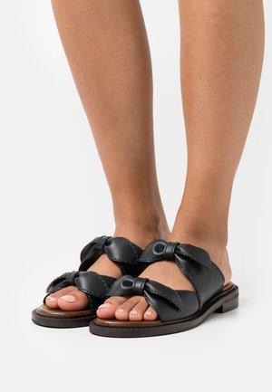 KAMILLA - Pantofle - black
