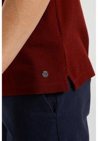 WE Fashion - Polo shirt - burgundy red - 4