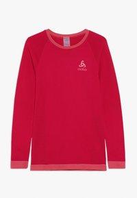 ODLO - CREW NECK PERFORMANCE WARM KIDS  - Camiseta interior - cerise/fruit dove - 0