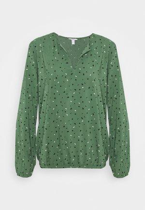 PRINT BLOUSE - Blouse - khaki green
