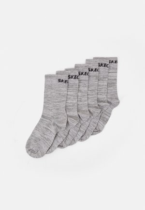 BASIC SOCKS VENTILATION 6 PACK - Ponožky - light grey random