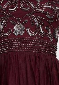 Lace & Beads Tall - KUSHI - Juhlamekko - burgundy - 6