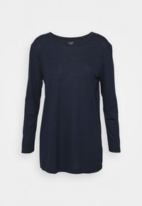 Marks & Spencer London - RELAXD CREW - Topper langermet - dark blue - 0