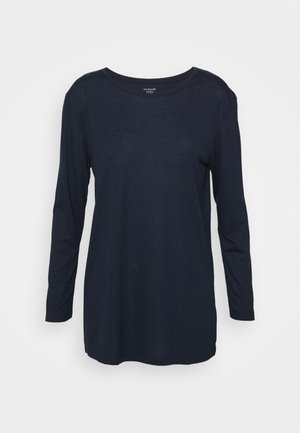 RELAXD CREW - Long sleeved top - dark blue