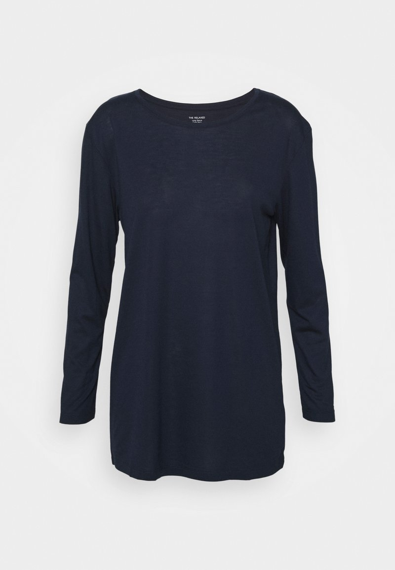 Marks & Spencer London - RELAXD CREW - Topper langermet - dark blue