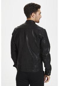 Matinique - Leather jacket - black - 2
