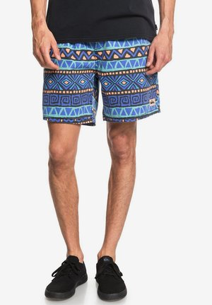 Shorts - black heritage print