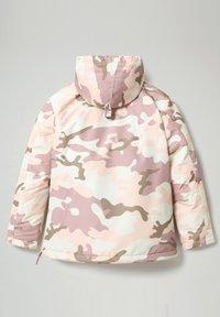 Napapijri - RAINFOREST PRINT CAMO - Veste d'hiver - camou pink - 5