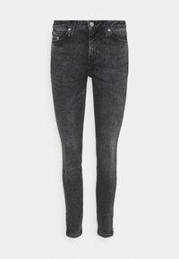 MID RISE SKINNY ANKLE - Jeans Skinny Fit - denim grey