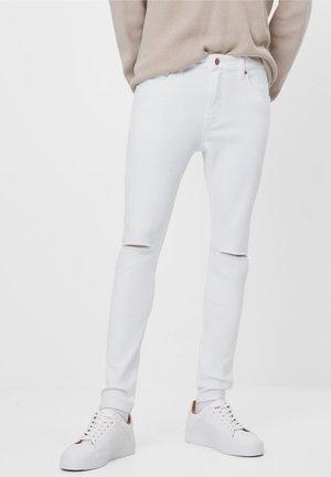 Skinny džíny - white