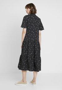 Topshop - SPOT PRINT CHUCK - Maxi dress - black - 2