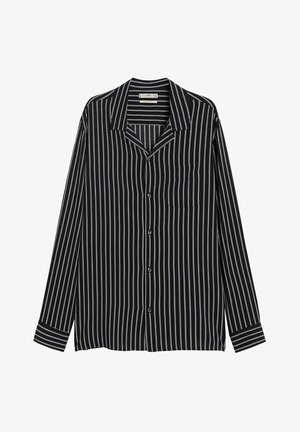 STRIPE - Shirt - black