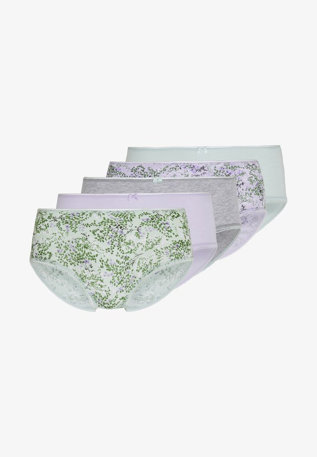 NATURES EMBRACE MIDI 5 PACK - Panty - light green