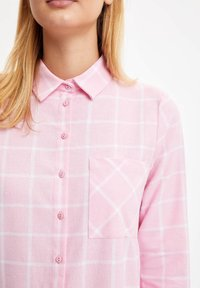 DeFacto - Button-down blouse - pink - 4