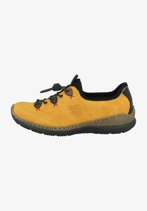 Casual lace-ups - yellow combination