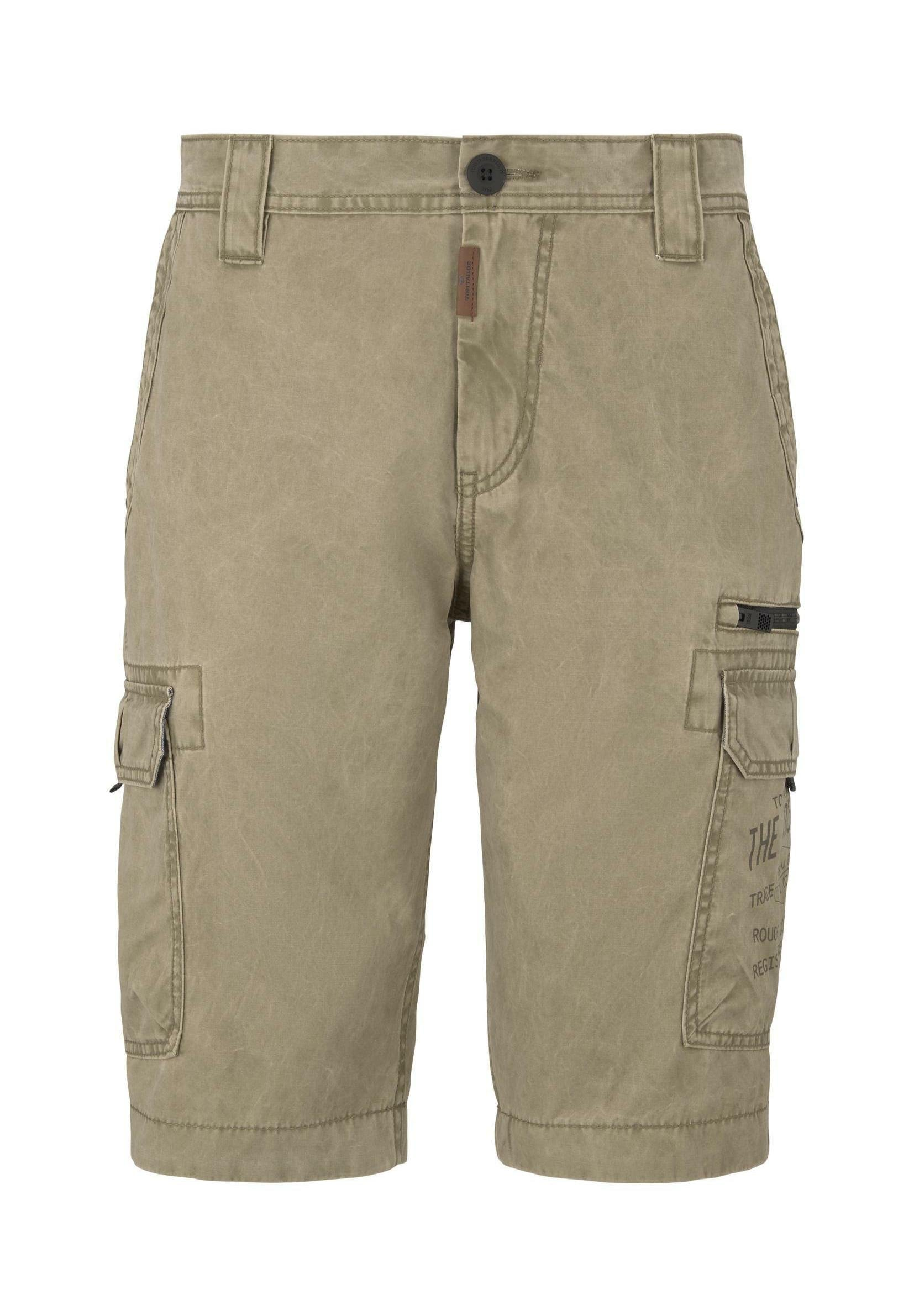 Tom Tailor Jeans Shorts - Blue Grey