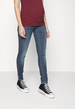 OLMWAUW LIFE - Jeans Skinny Fit - blue black denim