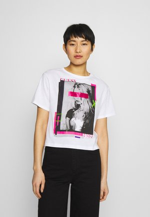 ANDINA  - Print T-shirt - true white
