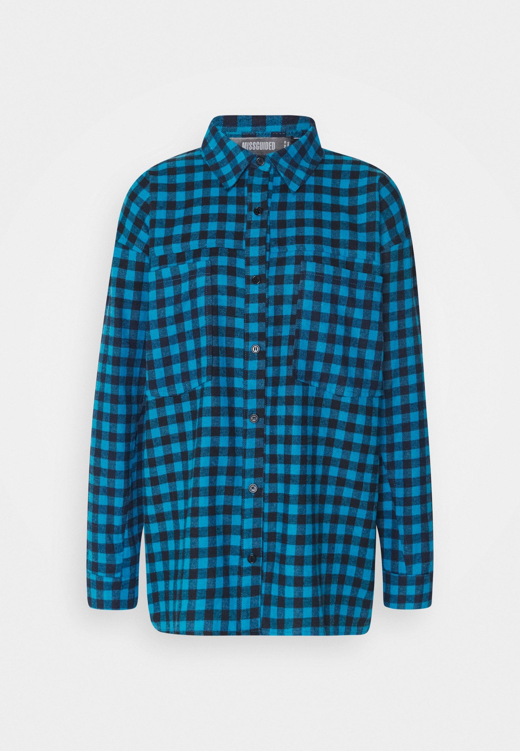 Women CHECK SHIRT - Button-down blouse