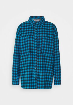 CHECK SHIRT - Skjorte - teal