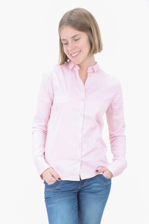 TILDA - Button-down blouse - soft rose