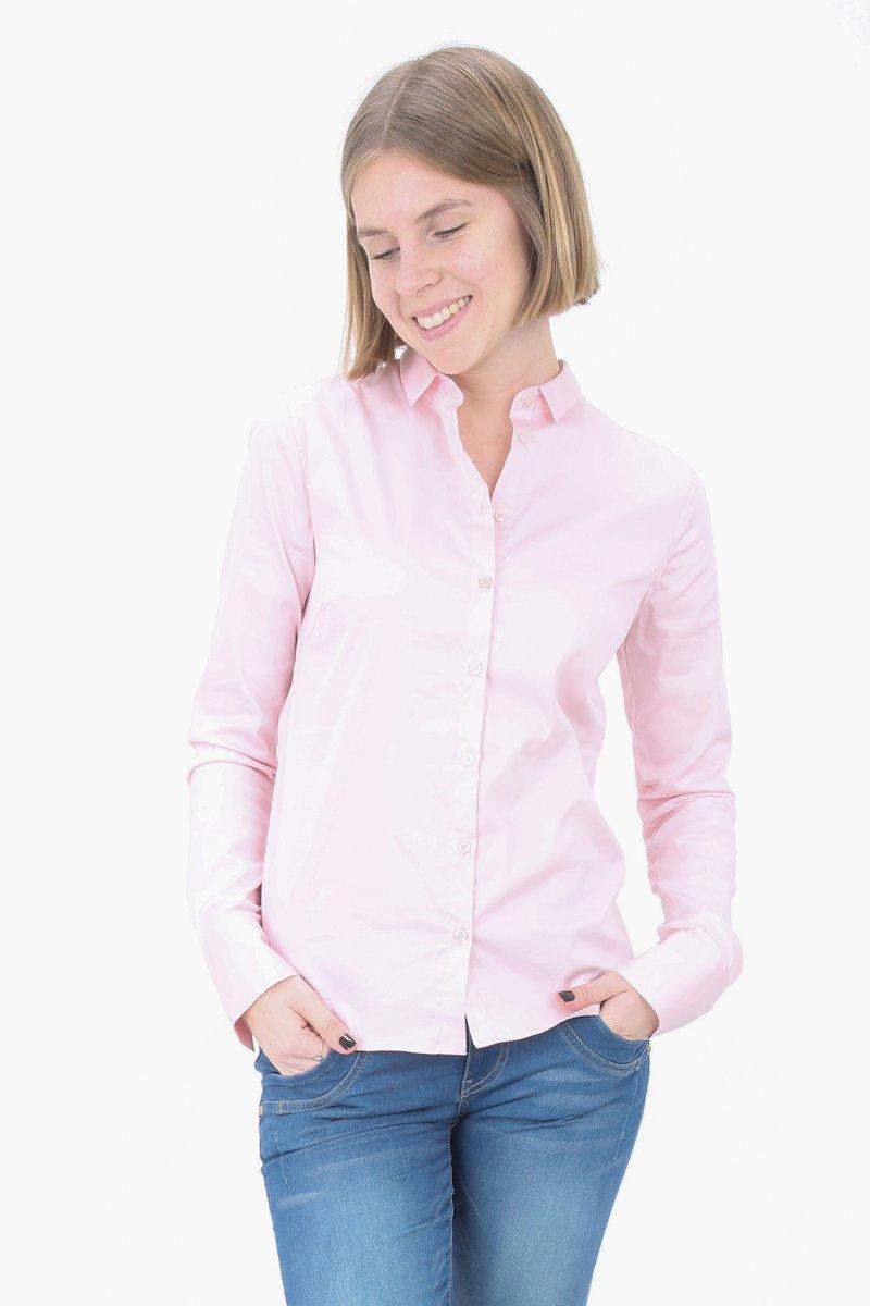 Mos Mosh - TILDA - Button-down blouse - soft rose