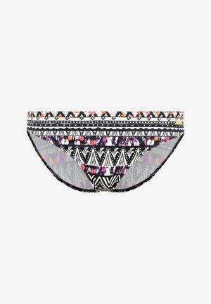 Bikini bottoms - schwarz-bedruckt