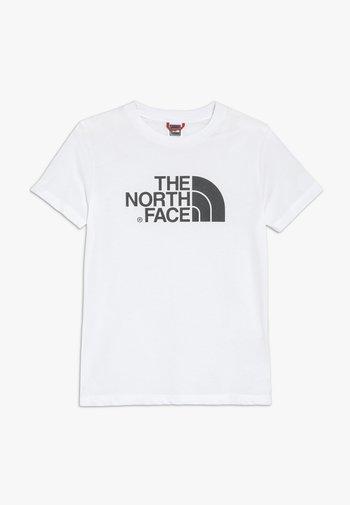 YOUTH EASY UNISEX - T-Shirt print - white/black