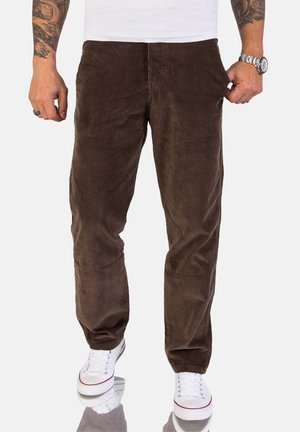 Trousers - mocca