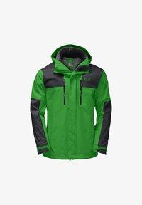 Jack Wolfskin - JASPER FLEX  - Hardshell jacket - basil green - 7
