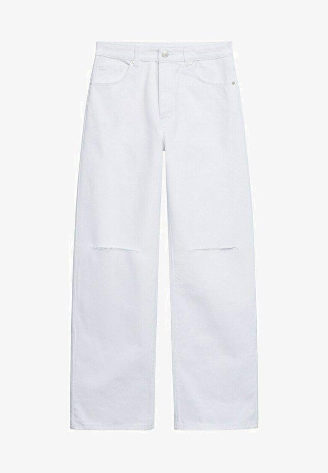 Jeans Straight Leg - wit