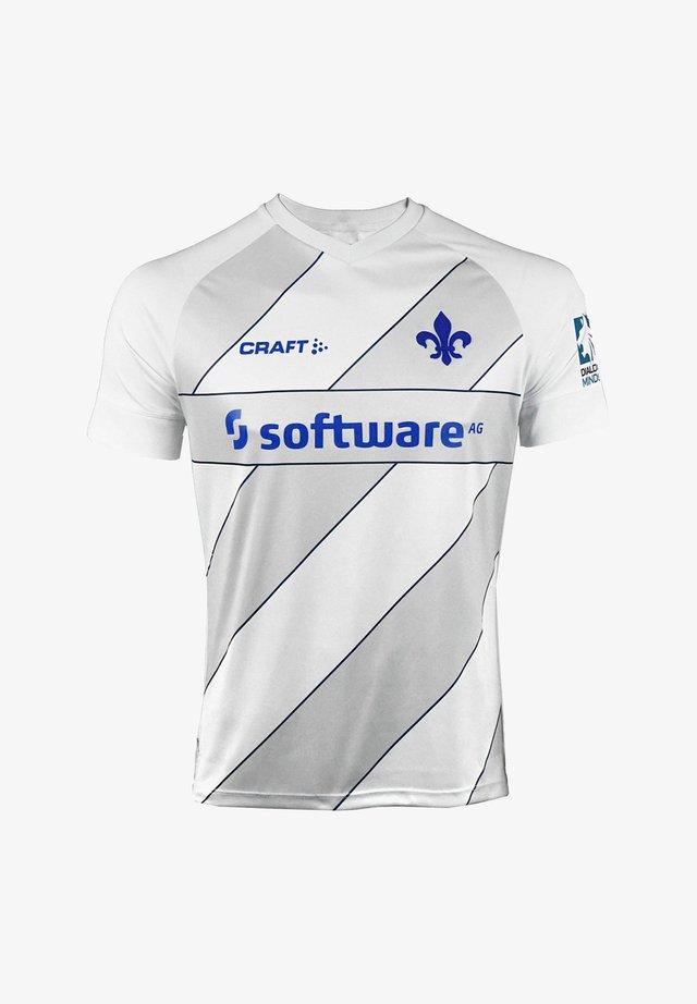 TRIKOTS - Print T-shirt - weissgrau